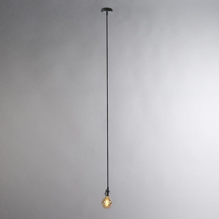 Hanglamp Cava 1 chroom