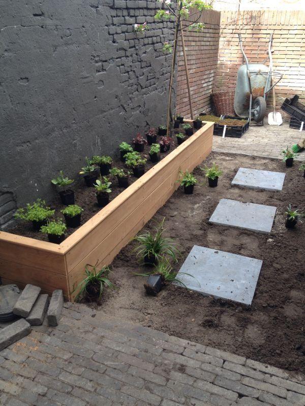 tuin ontwerp: Alles net aangeplant