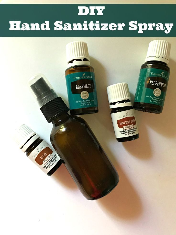 Diy Hand Sanitizer Spray Recipe Hand Sanitizer Best Hand