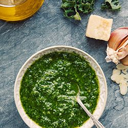Pesto z jarmużu - Przepis