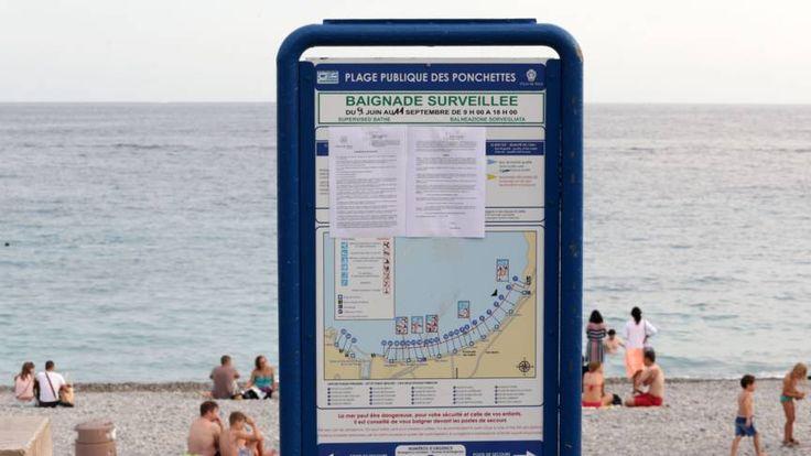 Politie Nice dwingt vrouw op strand kleding uit te trekken | NOS