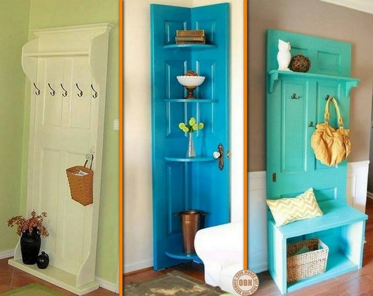 Got some old doors you're thinking of repurposing? These projects will surely inspire you! http://theownerbuildernetwork.co/ogg2