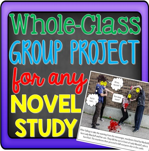 Are you looking for a whole-class novel study project for your upper elementary, middle school, or high school students? Then you're going to love this idea! Choose ANY novel you're using in the classroom and have your students create a comic book-like outline, so that anyone gains understanding. It'll be a hit in your 3rd, 4th, 5th, 6th, 7th, 8th, 9th, 10th, 11th, or 12th grade classroom! Click through to see how easy this is to complete in the classroom. {Great technology integration!}
