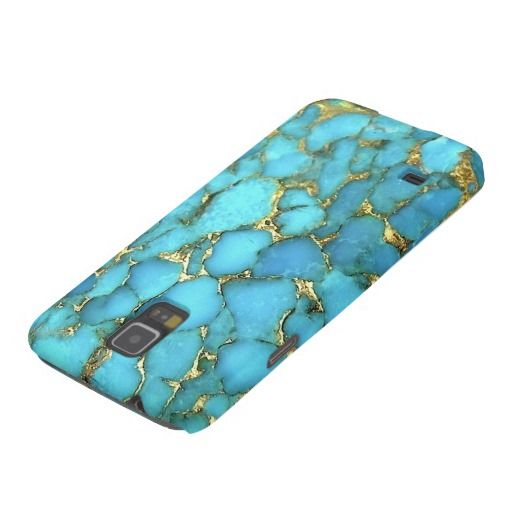 """Turquoise Samsung Galaxy Phone Case"" Galaxy S5 Cases - obsessed with this phone case."