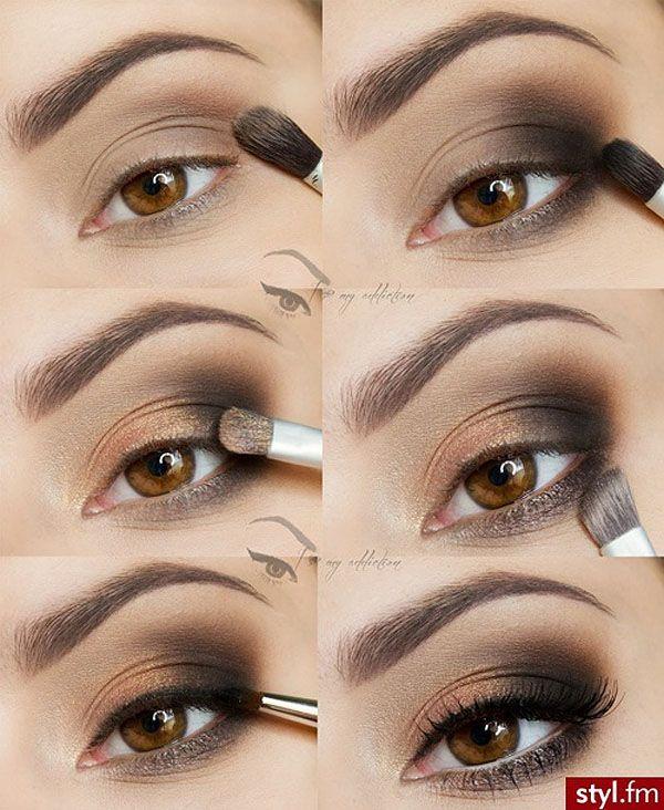 maquiagem para quem tem olhos verdes - Pesquisa Google