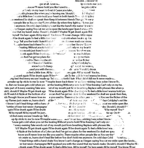 Ed Sheeran, lyrical genius <3