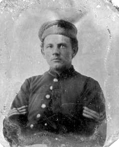 Thomas Gregory Flynn who fought in the US CIVIL WAR 1861- 1865. Born in Banagher, Co. Offaly, Ireland, Sept. 1845 to May 1873. In 62nd New York Infantry, Co. D.