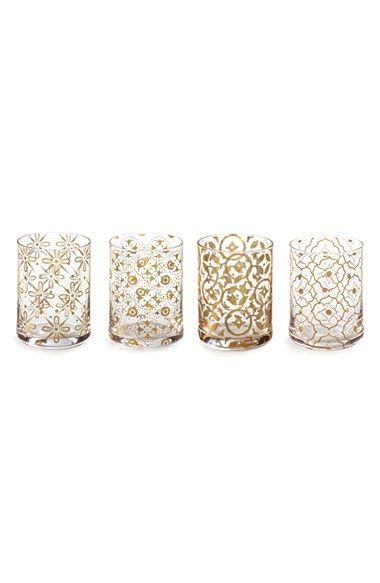 Rosanna 'Kashmir' Double Old Fashioned Glasses (Set of 4) available at #Nordstrom
