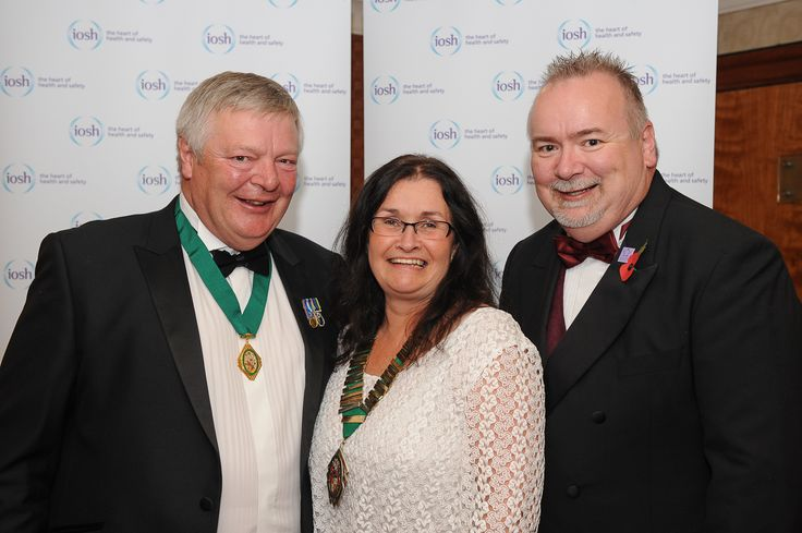 The annual dinner was staged at the end of the first day. The newly-confirmed Presidential team (from left: Immediate Past President Tim Briggs, President Karen McDonnell and President Elect Graham Parker) were in attendance.