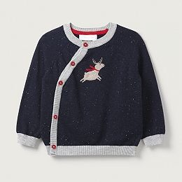 Buy Flying Reindeer Jumper  - from The White Company