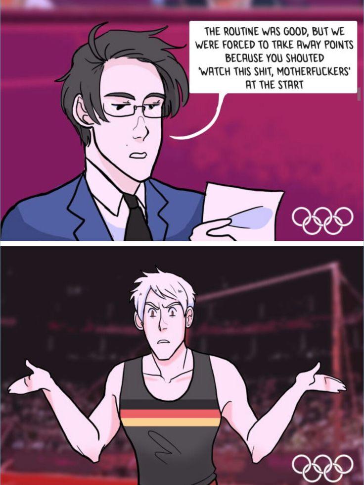 Hetalia Olympics - Prussia xD