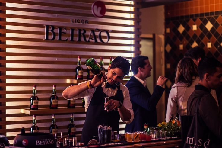 O Licor Beirão a marcar presença no Perfect Serve Barshow Amsterdam 2016.