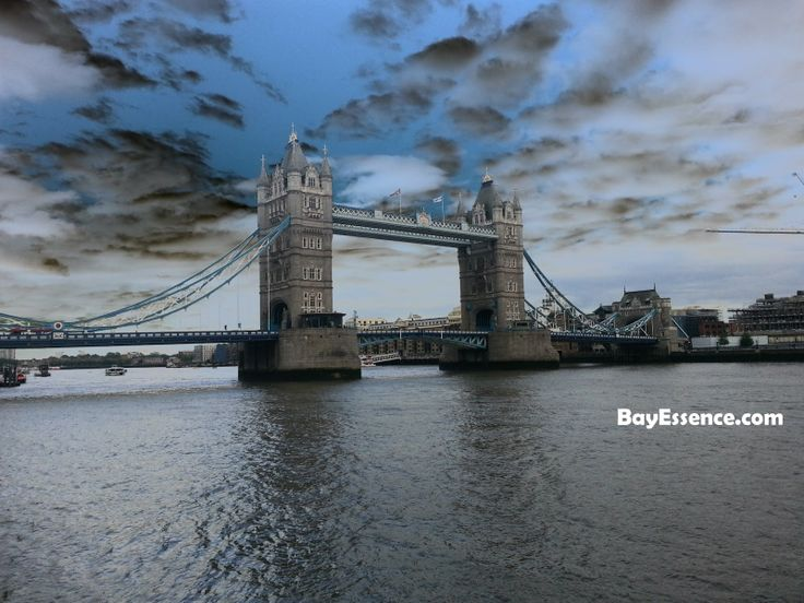 The Tower Bridge - Bay Essence: Londres: el desafío de las 20 horas #AtoZChallenge