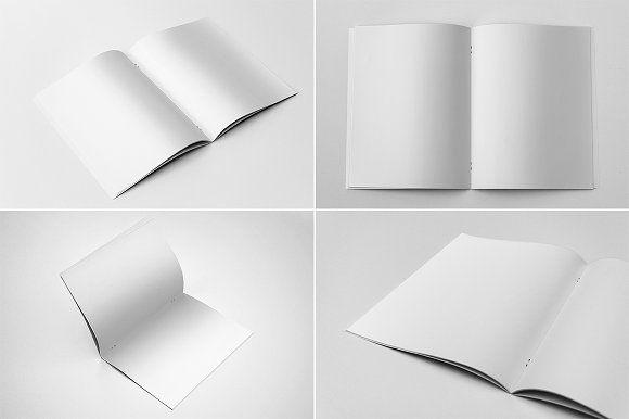 US Letter Brochure Mockups by Andre28 on @creativemarket