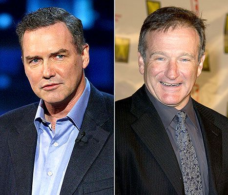 Norm Macdonald and Robin Williams - funny and bittersweet recall of their meeting backstage in Norm's dressing room.