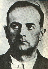 """Eduard Roschmann (alias """"Frederico/Federico Wagner"""" or """"Frederico/Federico Wegener""""; 25 November 1908 - 8 August 1977) was a member of the Nazi SS organization and commandant of the Riga ghetto during 1943. He was responsible for numerous murders and other atrocities. As a result of a fictionalized portrayal in the novel The Odessa File by Frederick Forsyth and its subsequent movie adaptation, Roschmann came to be known as the """"Butcher of Riga""""."""
