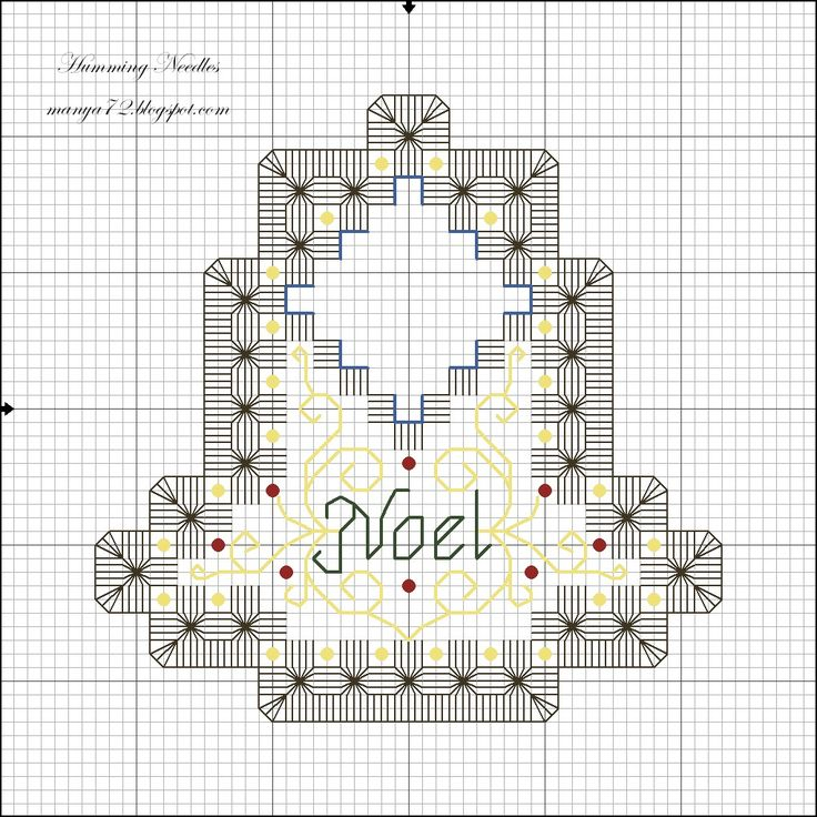 Humming Needles: Christmas Bell Ornament Pattern