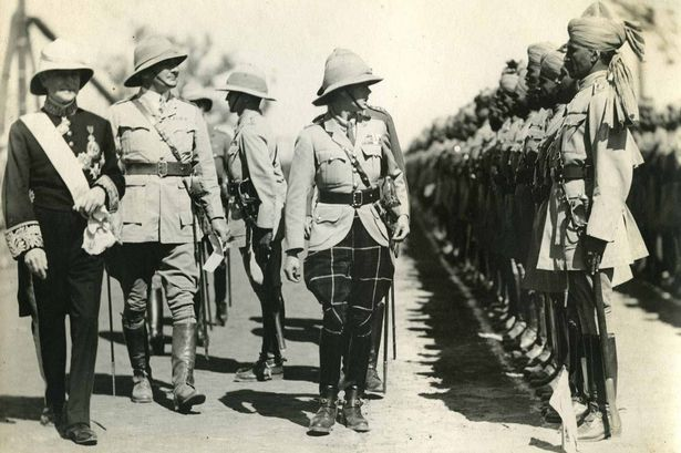 The Prince of Wales (the future Edward VIII) inspecting troops in India, photographed by Edward Chambre Hardman Credit: National Trust Images & Edward Chambre Hardman Collection
