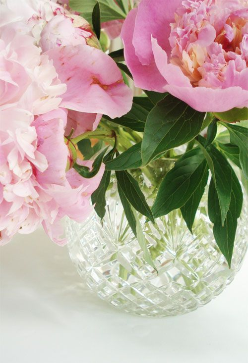 Pretty pink things | Such Pretty Things: Flower Arranging