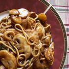 Chicken Lo Mein Recipe  http://www.bakespace.com/recipes/detail/PF-CHANG%27S-LO-MEIN-SHRIMP/20913/  http://www.recipemama.net/chicken-lo-mein-recipe/#