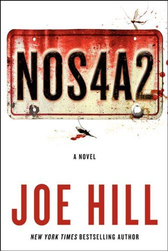 """""""NOS4A2″ by Joe Hill Joe Hill should have a fairly good idea what it means to be an author, with a couple of books under his belt — Heart-Shaped Box and Horns — as well as a short story collection — 20th Century Ghosts – plus a successful ongoing graphic novel series called Lock & Key; but his latest novel, NOS4A2 puts him on a stage of developed storytelling with his father, Stephen King."""