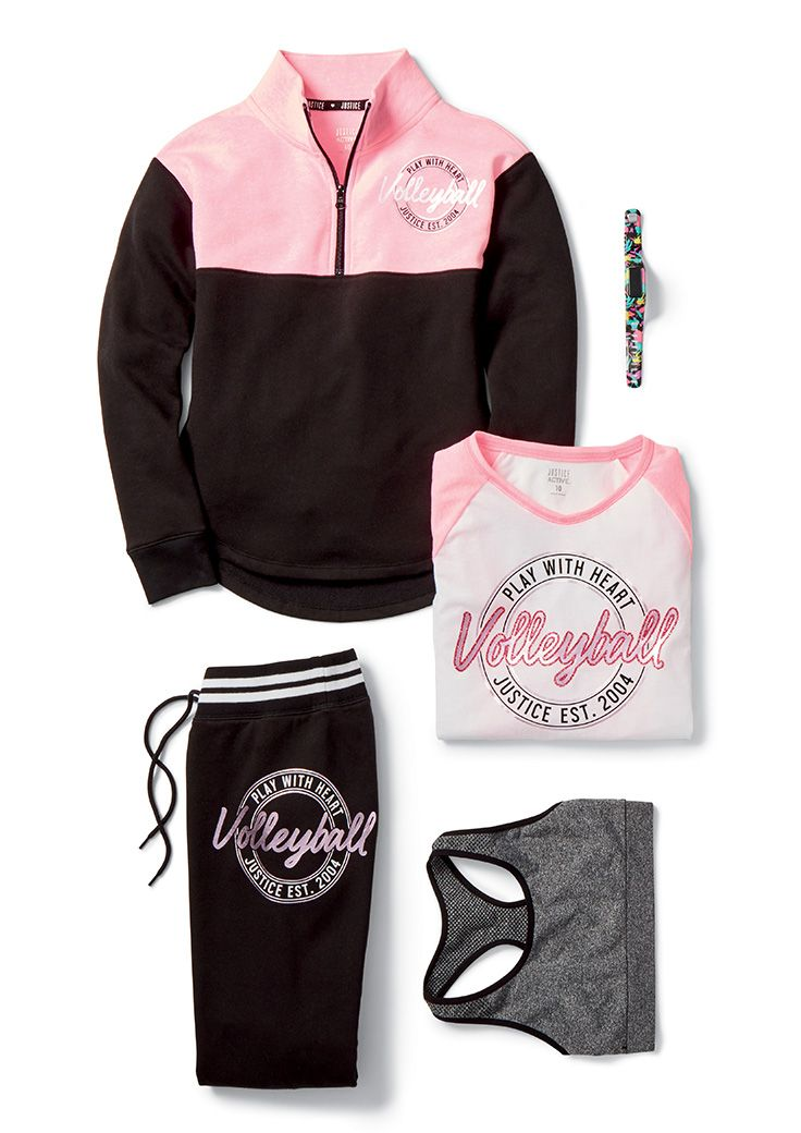 Score points with the volleyball lover on your list with made-to-match activewear and accessories. Game, set, match!