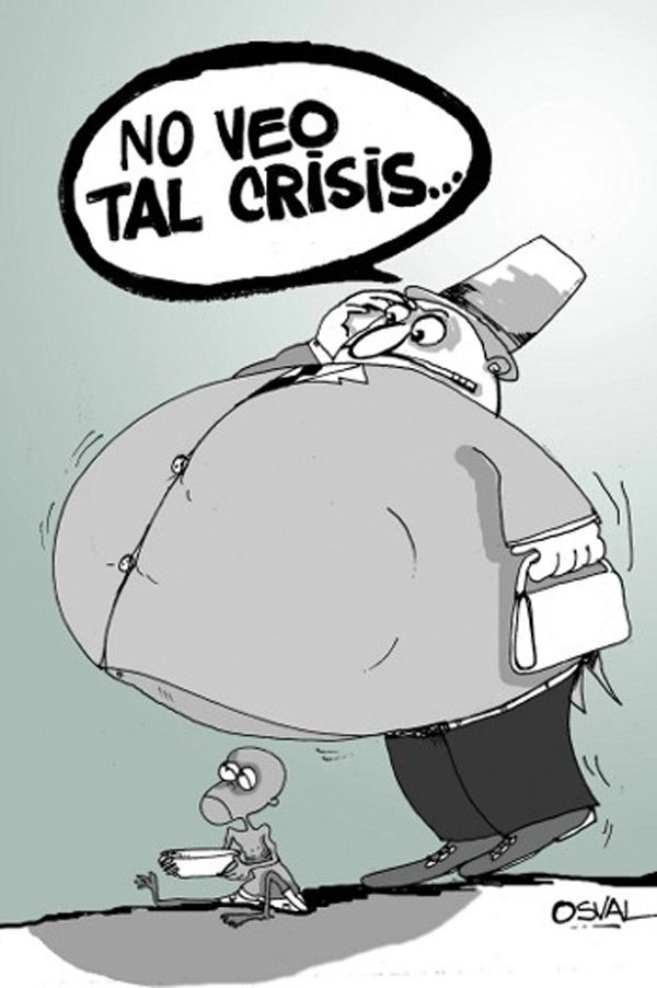 No veo tal crisis...