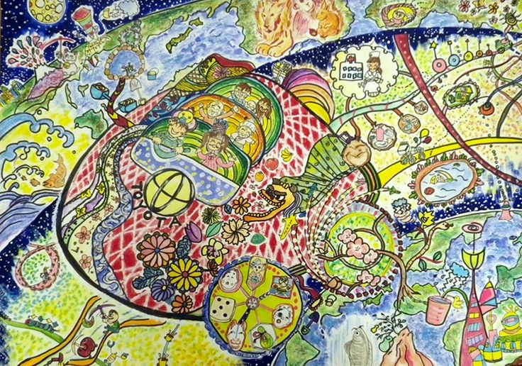 ~Two-Storied Earth~<br>Eco-Pioneer Car That Creates Future Places. - Yurina Kitai | Toyota Dream Car Art Contest