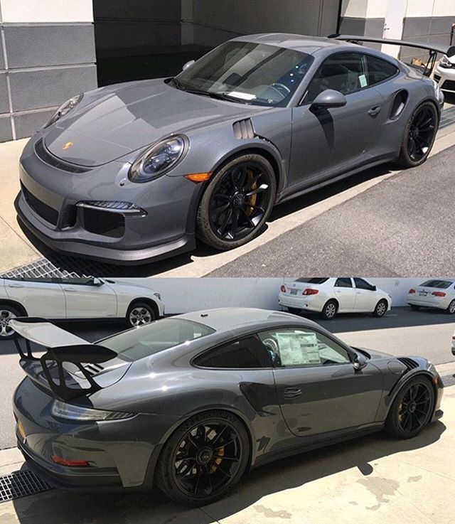 WEBSTA @ carswithoutlimits - Grigio Telesto GT3 RS pic @crs2pepper #CarsWithoutLimits #Porsche #GT3RS