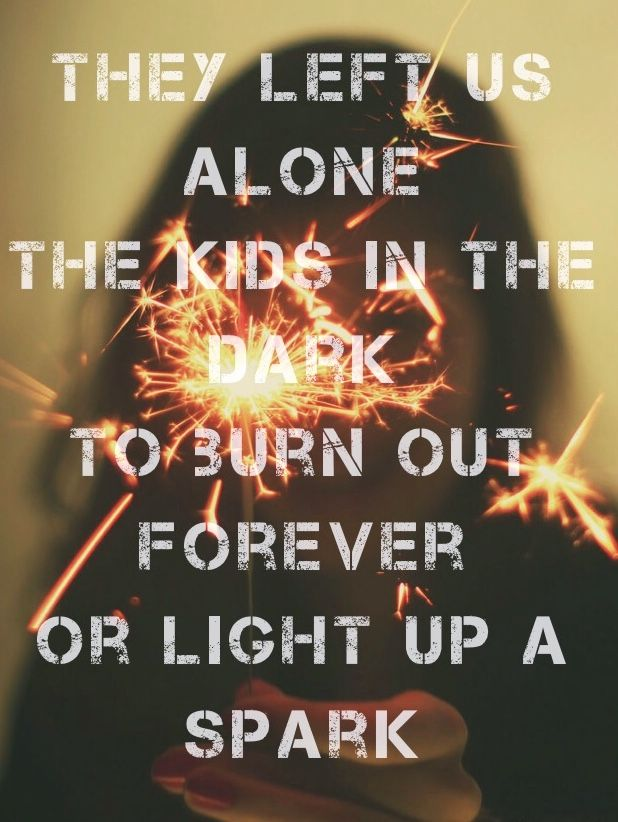 All Time Low - Kids In The Dark One of my absolute favorites off of their new album. So good. It's like an anthem.