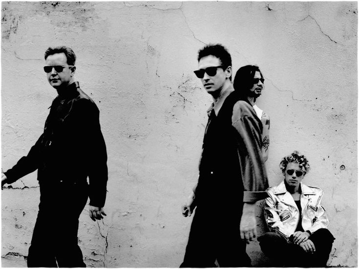 Depeche Mode - Songs of Faith and Devotion Era -- Tour Guide Book