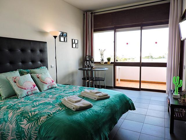 One of our #beachfront #apartments is ready for #summer #2018 #book #bookingdotcom #bookingdotyeah #airbnb #alvor #algarve #portugal #interiordesign #design