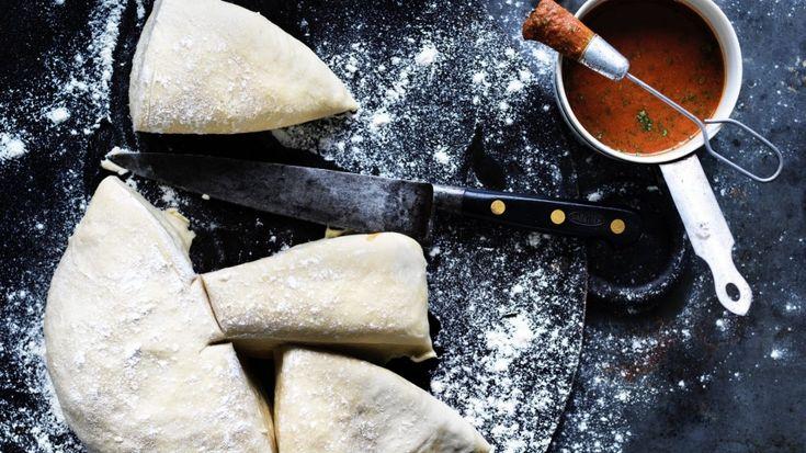 Basic overnight flatbread dough