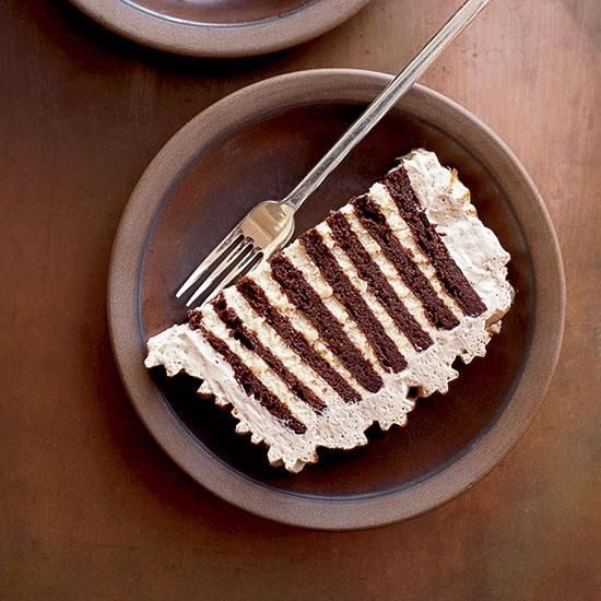 Zebra Cake Chocolate Wafers