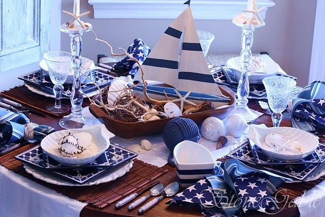 die 98 besten bilder zu maritime tischdeko auf pinterest. Black Bedroom Furniture Sets. Home Design Ideas