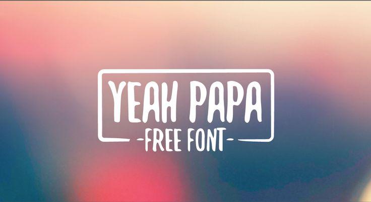 Yeah Papa Font · 1001 Fonts