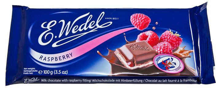 Raspberry Chocolate, E. Wedel Warsaw, Poland, owned by Lotte group of South Korea and Japan, Shinjuku, Tokyo, Japan and Jung District, Seoul, South Korea.