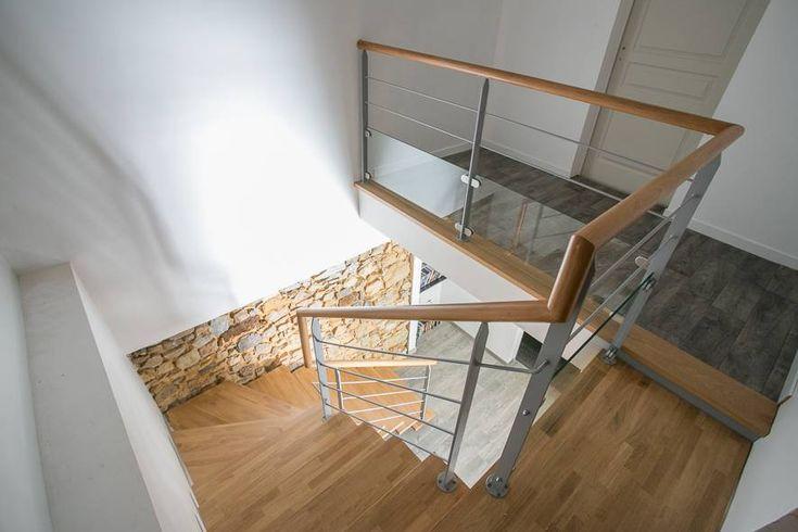 Epingle Sur Escaliers En Bois