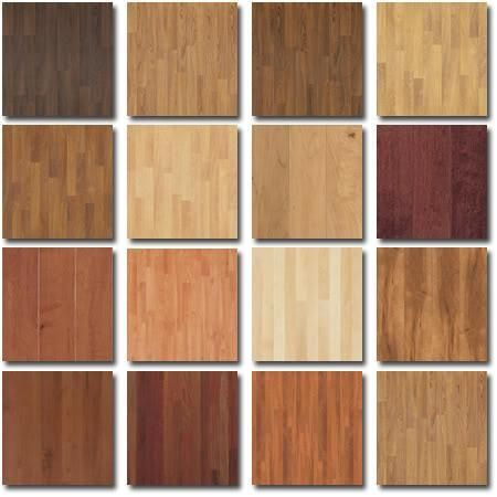 Parquet floor stains flooring products different types for Different colors of hardwood floors