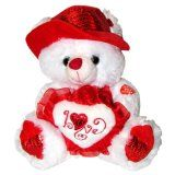 """Musical """"I Love You"""" Teddy Bear with Red Hat (11"""") Plays """"The Love Song"""" - Best Valentine's Day Gifts: Valentines Day Gifts for Her, Valentines Day Gifts for Him, Valentines Day Gifts for Girlfriend, Valentines Day Gifts for Boyfriend, Valentines Day Gifts for Men, Valentines Day Gifts for Husband, Valentines Day Gifts for Wife, Valentines Day Gifts for Women - http://tonysgifts.net/2015/02/08/musical-i-love-you-teddy-bear-with-red-hat-11-plays-the-love-song-best-valentines-d"""