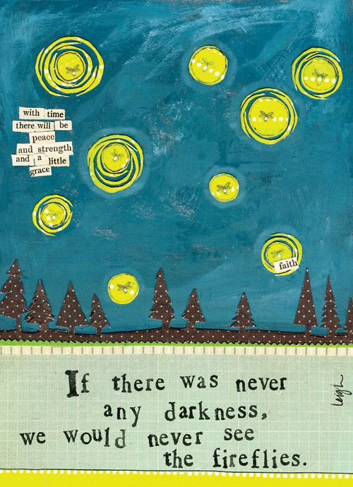 """If there was never any darkness, we would never see the fireflies"". Leigh Standley is the artist, writer, and owner of Curly Girl Design, Inc. Curly Girl Design and Leigh's line of clever and colorfu"