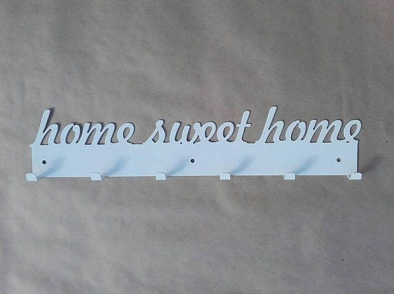 Check out this item in my Etsy shop https://www.etsy.com/listing/508471706/home-sweet-home-metal-coat-rack-hooks