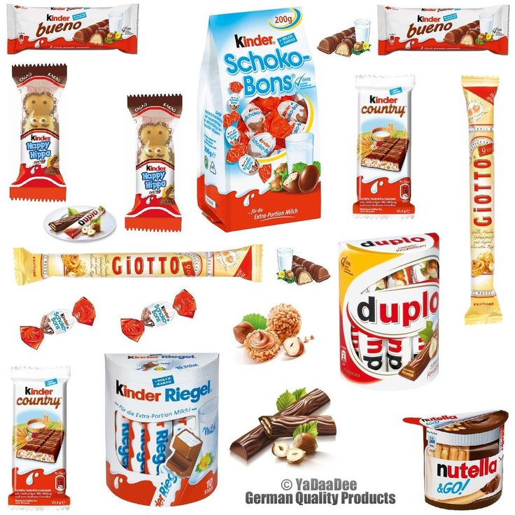 Ferrero Chocolate Big Pack / Kinder Bueno Giotto Duplo etc