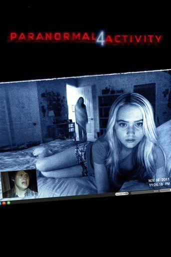 Paranormal Activity 4- good movie... though do people really rely on their webcams that much?!