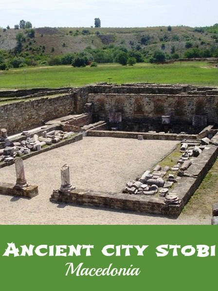 Stobi is an ancient town, which is located on the highway near the town of Gradsko and is located about 81 km from Skopje, and 97 km from Bitola. Ancient Stobi can be visited as a day trip from Skopje or as a stop on the highway that leads to Thessaloniki.