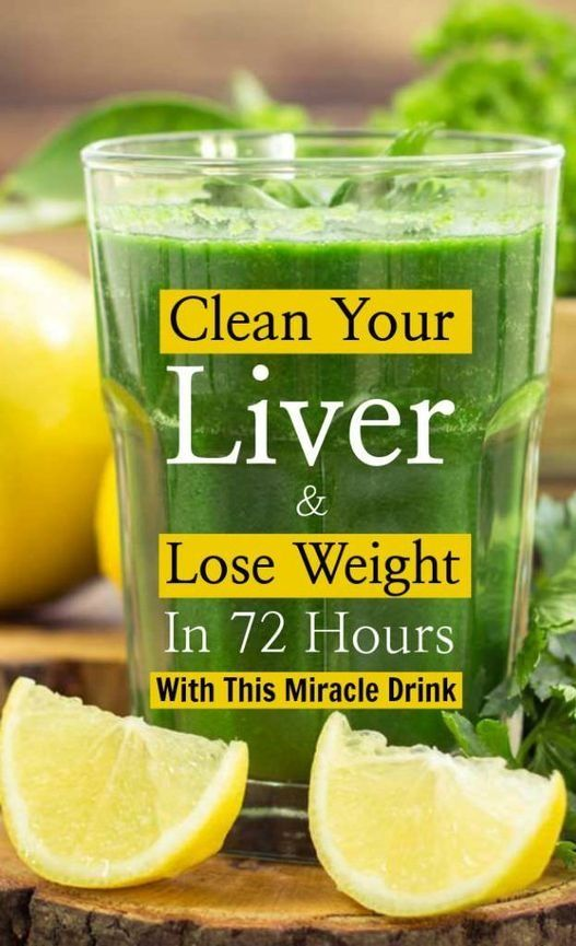 This miracle drink will not only detoxify and clean up your liver but will also help you in losing weight– in just 3 days