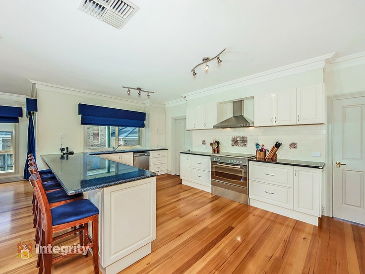 Look at the size of this kitchen! At 8 Shadi Rise, Yarra Glen.