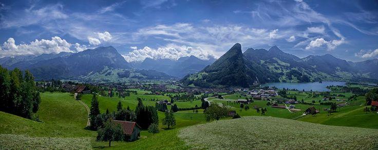 Switzerland in the Summer by Reiner Vogeley