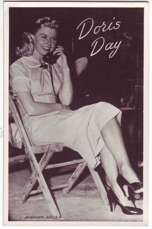 Doris Day when she sang with Les Brown's Band of Renown