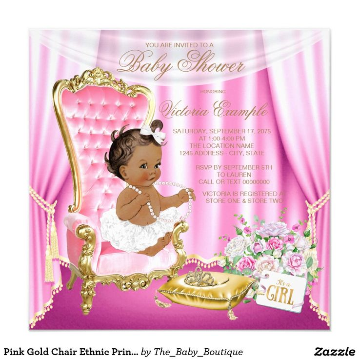286 best images about ethnic girl baby shower ideas on pinterest, Baby shower invitations